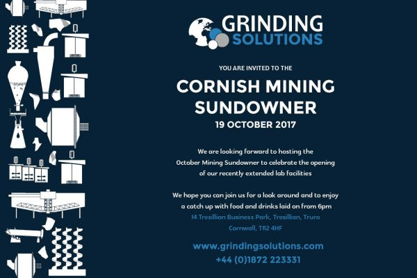 Cornish Mining Sundowner - Grinding Solutions Lab Expansion